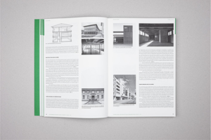 """Blick in das Buch """"Architektur fertigen. Konstruktiver Holzelementbau"""" von Mario Rinke, Martin Krammer (Hrsg.). Foto: Triest Verlag"""