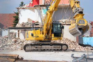 excavators, demolition, construction vehicle