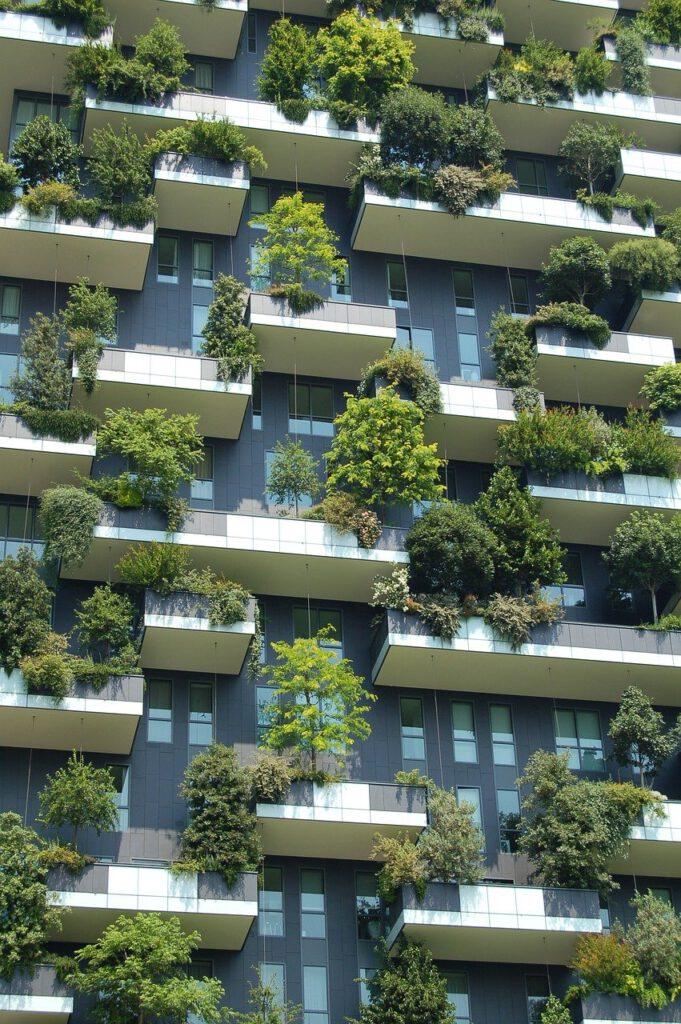 architecture, building, green architecture