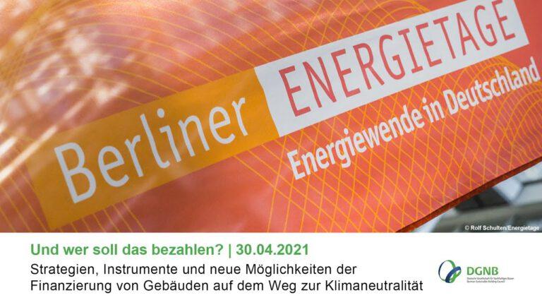 2020 fanden die ENERGIETAGE erstmals als digitaler Großkongress statt und verzeichneten mit über 20.000 Registrierungen einen Anmelderekord. Grafik: Berliner ENERGIETAGE