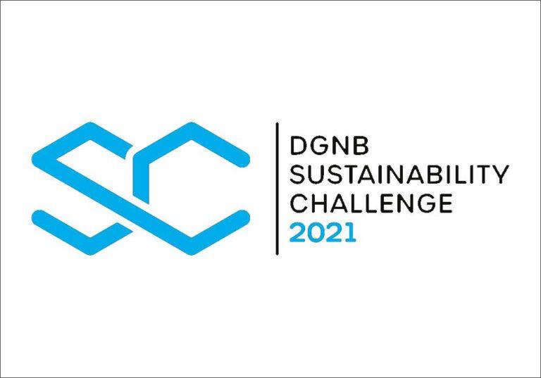 Logo DGNB Sustainability Challenge 2021, Quelle: DGNB
