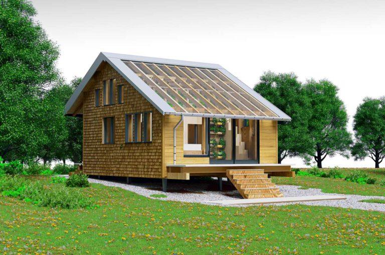 KREIS-Haus Außenansicht von Süden, Quelle: ZHAW
