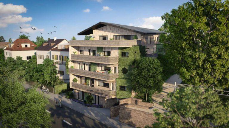 TRIQ will das erste ganzheitlich nachhaltige Wohnprojekt in Deutschland werden. Grafik: © TRIQ GmbH
