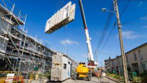 Serielle Sanierung nach dem Energiesprong-Prinzip, Foto: Fabrice SINGEVIN, Urheberrecht: ICF Habitat / Fabrice SINGEVIN