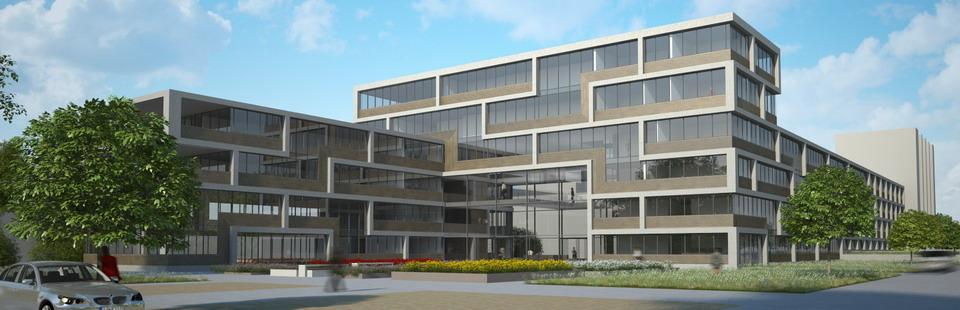Neubau der DAW-Firmenzentrale in Ober-Ramstadt, Quelle: DAW SE